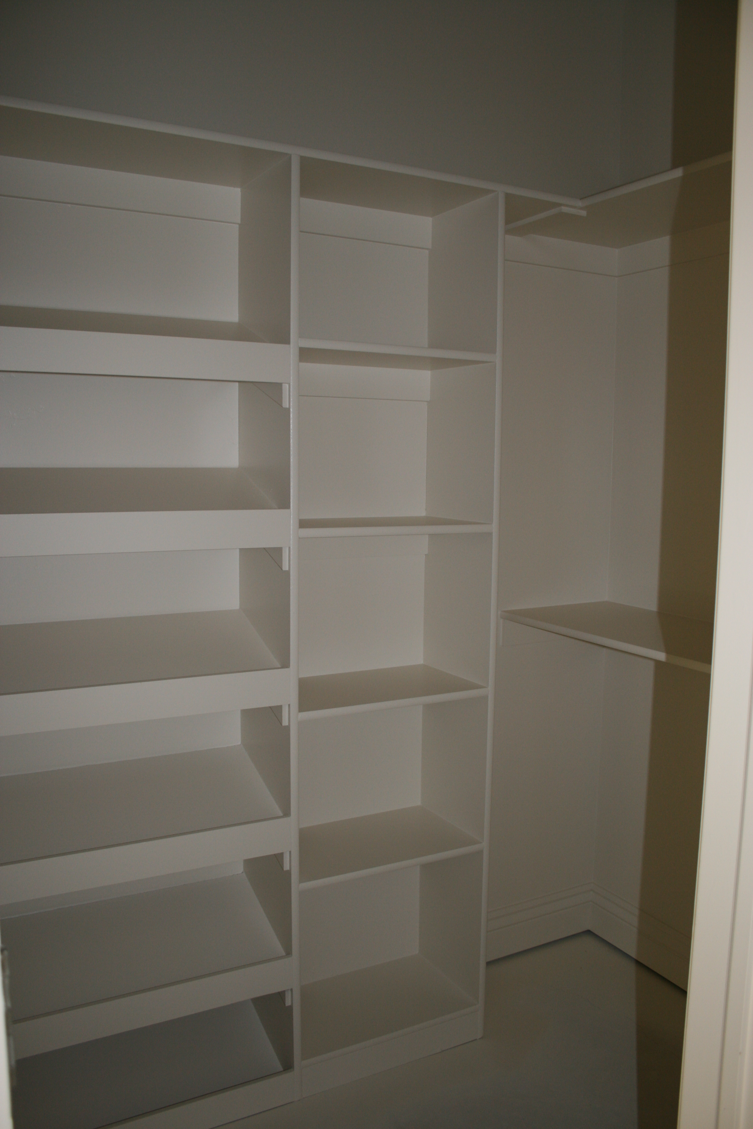 closet shelving. Black Bedroom Furniture Sets. Home Design Ideas