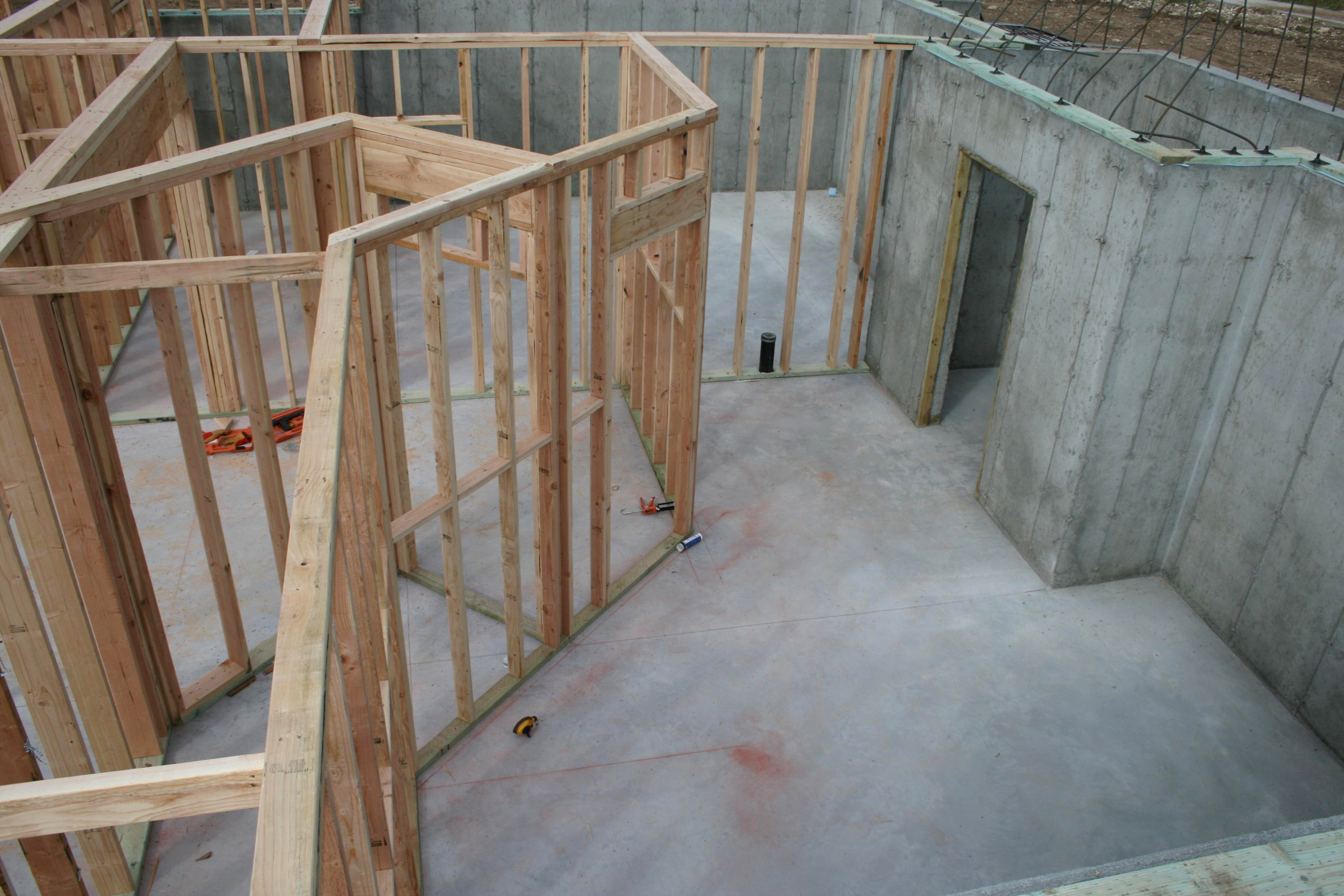 Basement Framing Exclusive Home Design