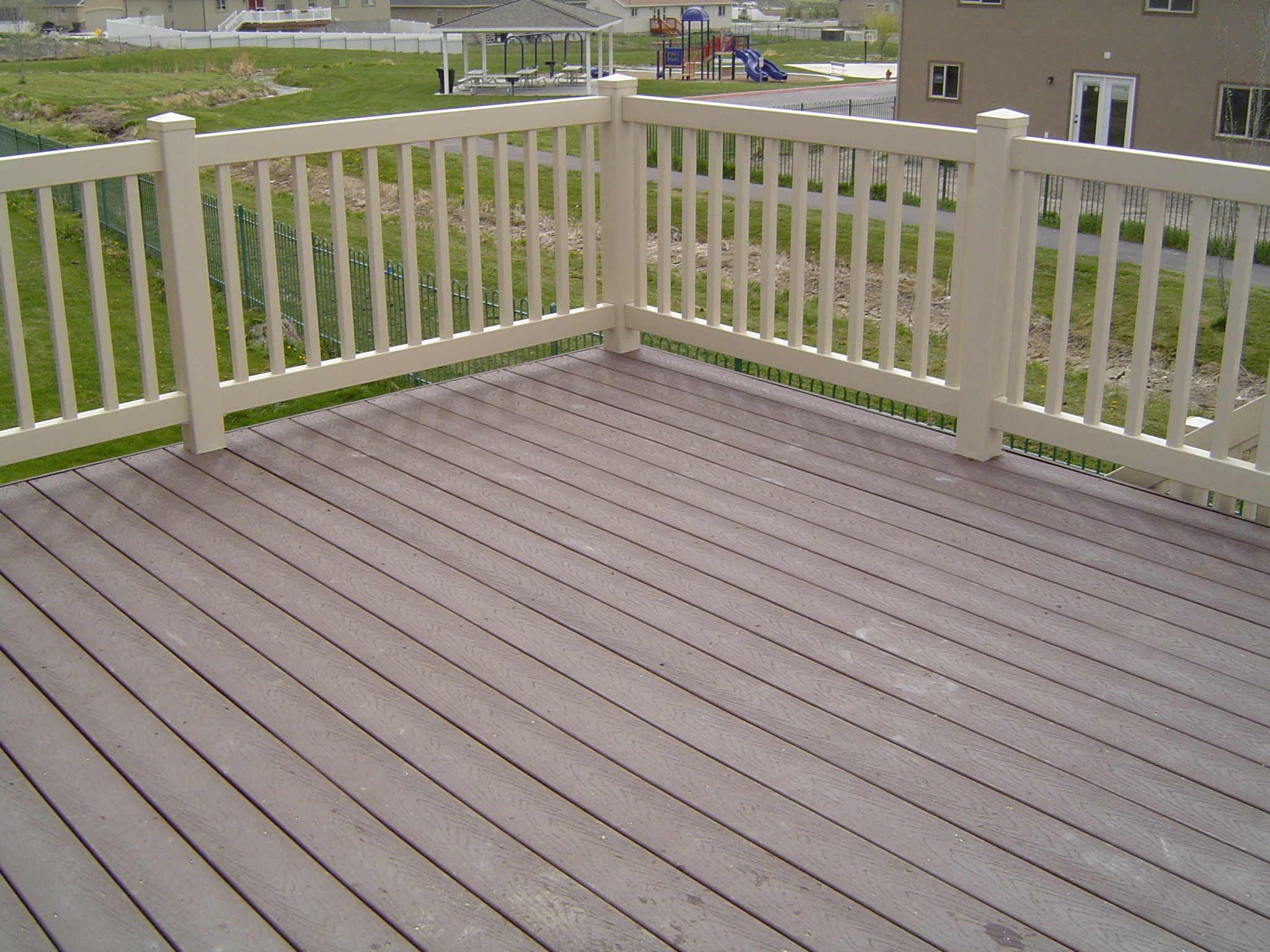 1000 images about trek decking on pinterest fire pits for Composite deck railing